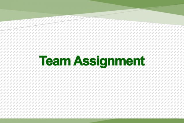 DevOps Team Assignment