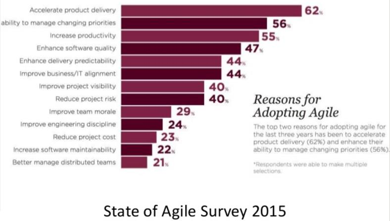 State Of Agile Survey 2015
