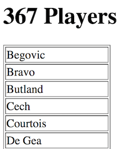 Q6 - Players